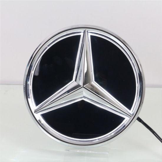 Led Per Auto Tuning.Auto Tuning Car Mirror Emblem Led Badges For Mercedes