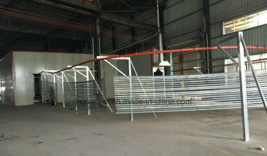 Powder Coat Steel Fence Metal Railing pictures & photos