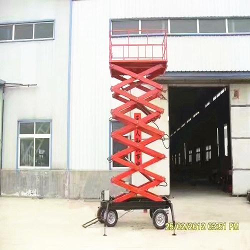 Scissor Lift Work Platform 8m