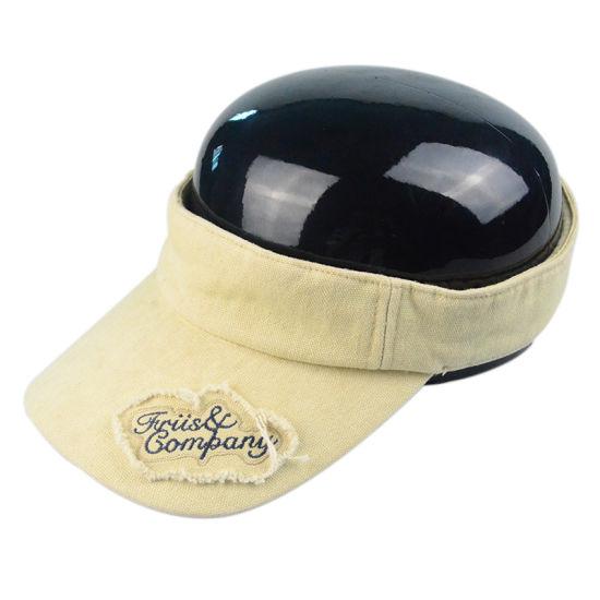 185006c77b554 China Custom Cheap Sun Visors Hats Caps with Embroidery Logo - China ...