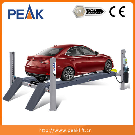 High Quality Alignment Car Lift Ramps Four Post Lift (409A) pictures & photos