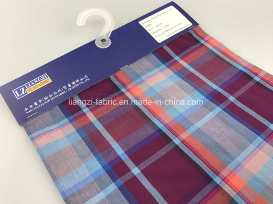 50's Yarn Dyed Cotton Check Fabric-Lz8636