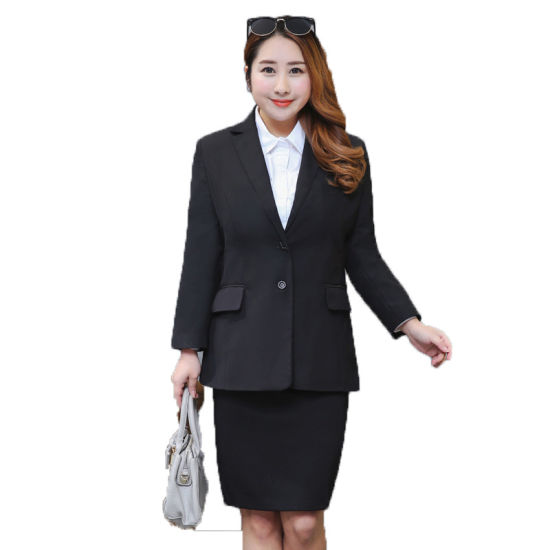 b00629a37c6 Extra Large Business Suit Business Suit Jacket Blazer Blazer Plus-Size Woman