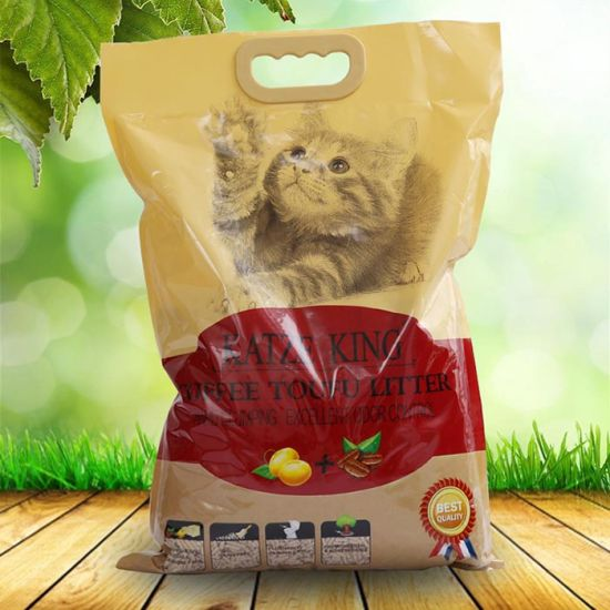 Tofu Cat Litter - Coffee Scent, Fllushable, Clumping pictures & photos