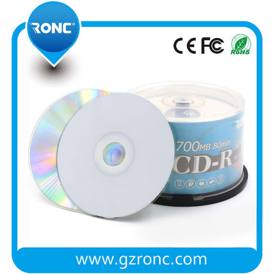 Blank DVD Disc Inkjet Printable DVD-R Disk pictures & photos