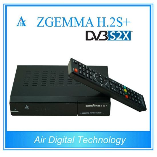 2017 New Exclusively Zgemma H. 2s Plus Satellite/Cable Receiver Linux OS Enigma2 DVB-S2+DVB-S2/S2X/T2/C Triple Tuners pictures & photos