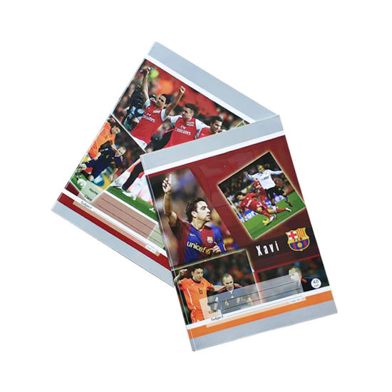 Soccer Star Softcover Student Exercise Book with Good Selling