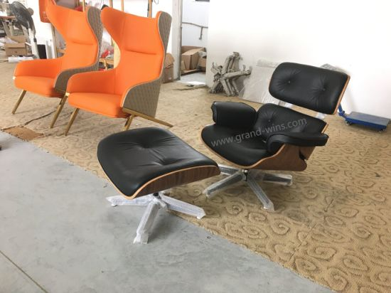 Pleasing Modern European Style Lounge Chair With Ottoman Eames Chair Charles Pdpeps Interior Chair Design Pdpepsorg