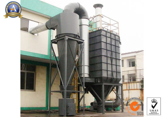 Dedusting System 12000 M3/H Industrial Spiral Cyclone Dust Collector