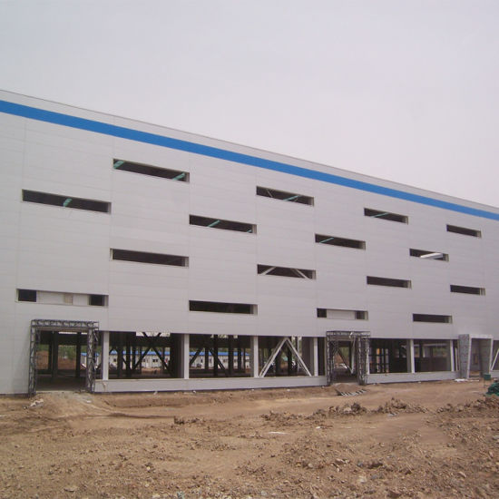 Light Weight Steel Structure Warehouse with Q355 Galvanized Prefab Steel