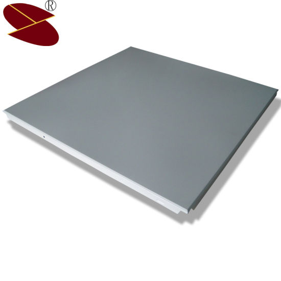College Classroom Interior Decoration Suspended Metal Aluminum Ceiling Panels pictures & photos