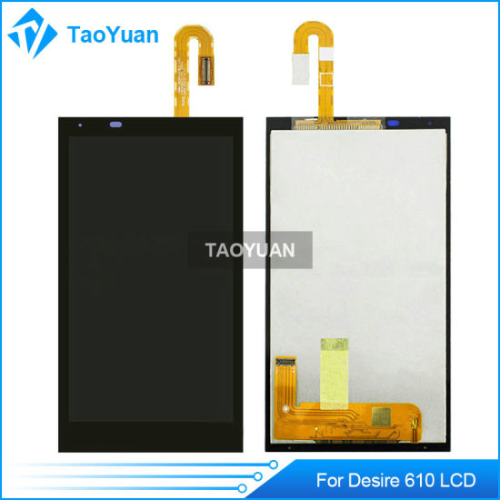 China Mobile Phone Spare Parts for HTC Desire 610 LCD Screen