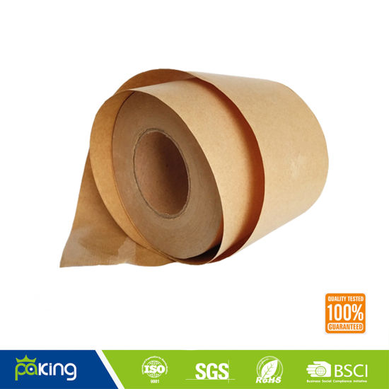 Promotion Brown Kraft Paper Tape with Hot Melt Glue pictures & photos
