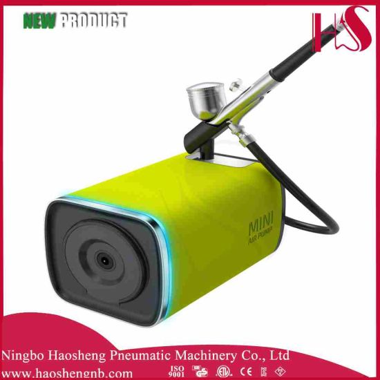 China Hs M100dk Airbrush Compressor Suit Airbrush Beauty Makeup