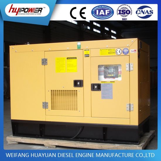 30kVA Silent WiFi Signal Generator with Weifang Diesel Engine pictures & photos