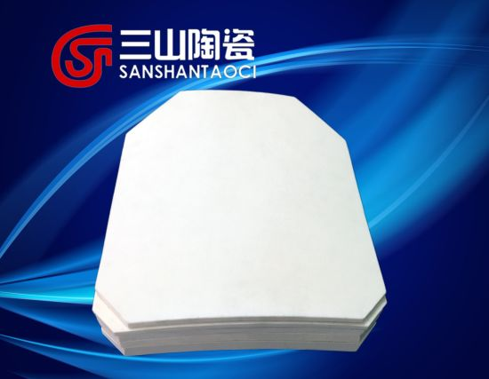 Alumina Cremic Whole Plate for Body Armor pictures & photos