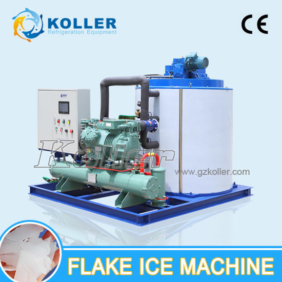 10 Tons Dry Flake Ice Machine for Fishery (KP100) pictures & photos