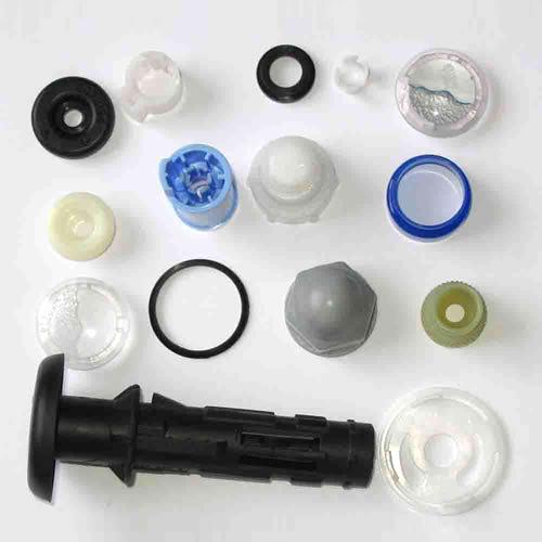 Custom Plastic Parts/Ring/Washer/Plastic Extrusion Parts