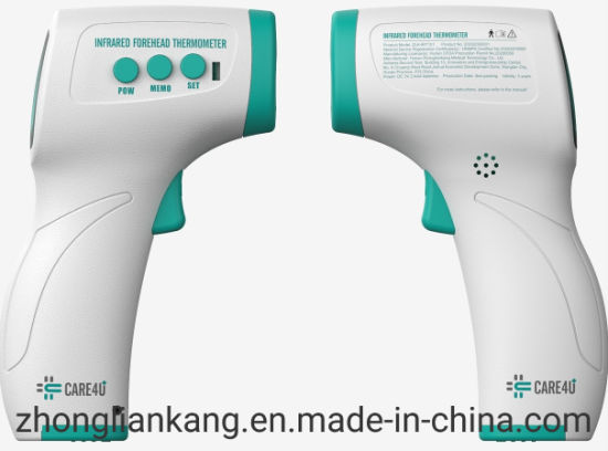Ready to Ship CE FDA Approved Infrared Forehead Thermometer Goal Chart