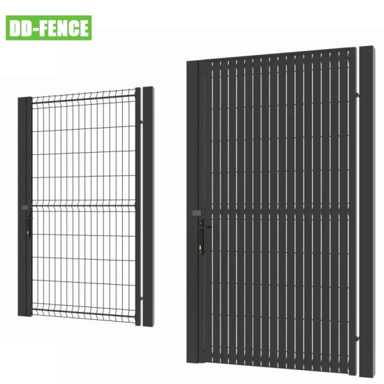 New Design Welded Wire Mesh panel with Pvcsalt Privacy Fence for Sale