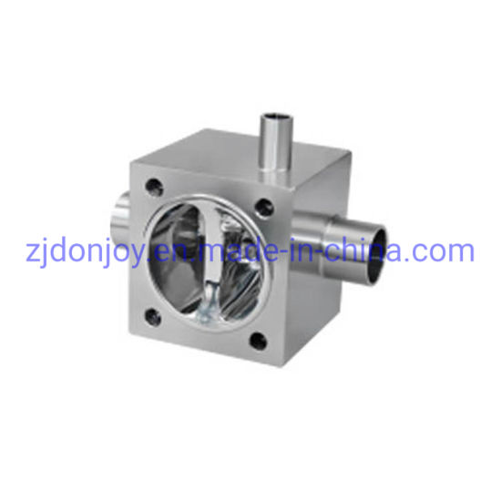 Reducer Multi Port Welding Diaphragm Valve for Sanitary Application pictures & photos