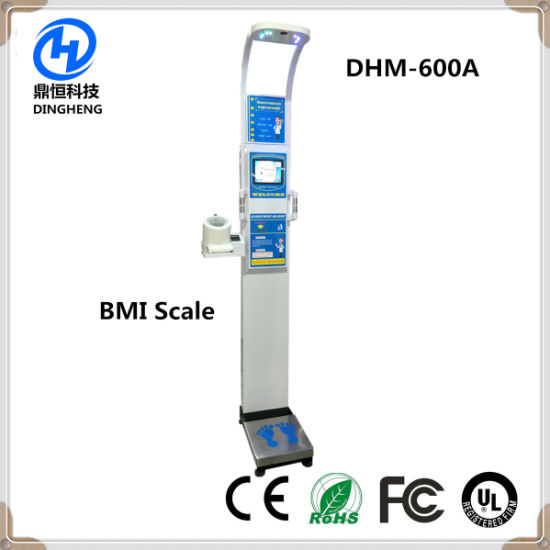 Dhm-600A Ultrasonic Human Body Height and Weight Scale