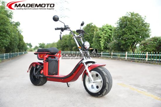 Factory Hot Style EEC/Coc 4000W Remote Control Fat Tire Removable Samsung Battery Citycoco Electric Mobility Bike Motorbike Scooter