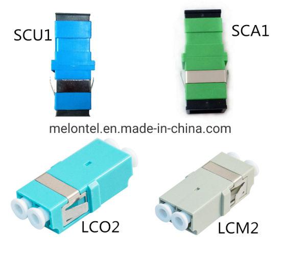 Mt-1032 Adapter Fiber No Ear Singlemode Sc/Upc/APC LC/mm Om3 Adapter