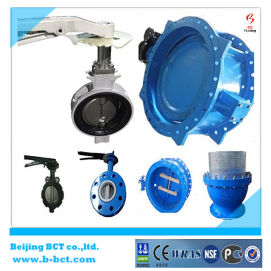 Alloy Aluminum Wafer Butterfly Valve with Handle JIS Standard SS316DISC and Stem BCT-ALU-BFV316 pictures & photos