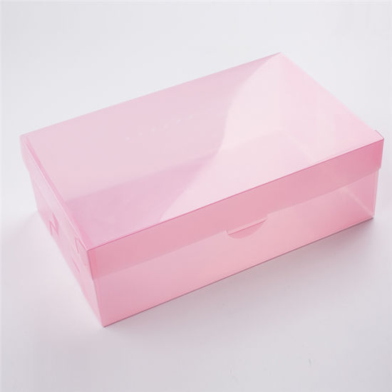 Wholesale High Quality Clear PP Plastic Shoe Packaging