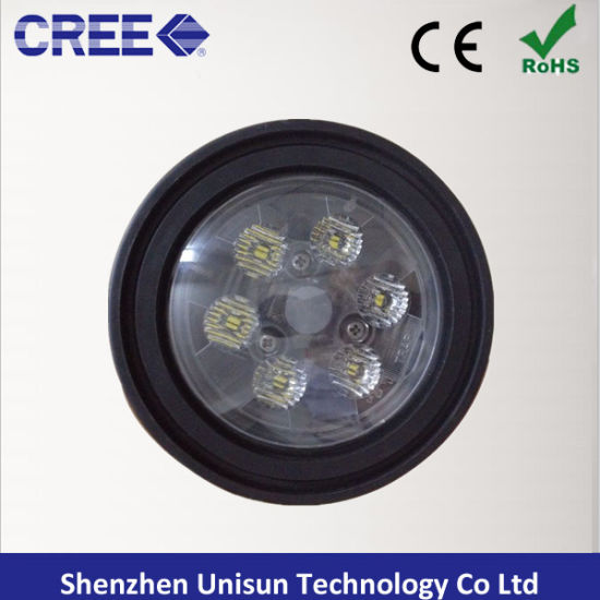 9-32V 4.5inch 18W CREE LED Tractor Flood Work Light pictures & photos