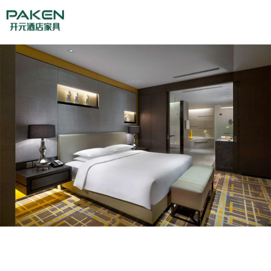 Customize Hotel/Apartment/Villa /House Room King & Twin Bedroom Loose & Fixed Modern Furniture