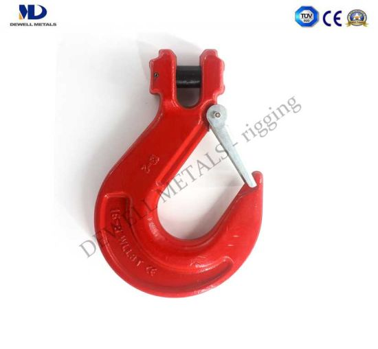 Red Painted Grade 80 Drop Forged Clevis Cling Hook