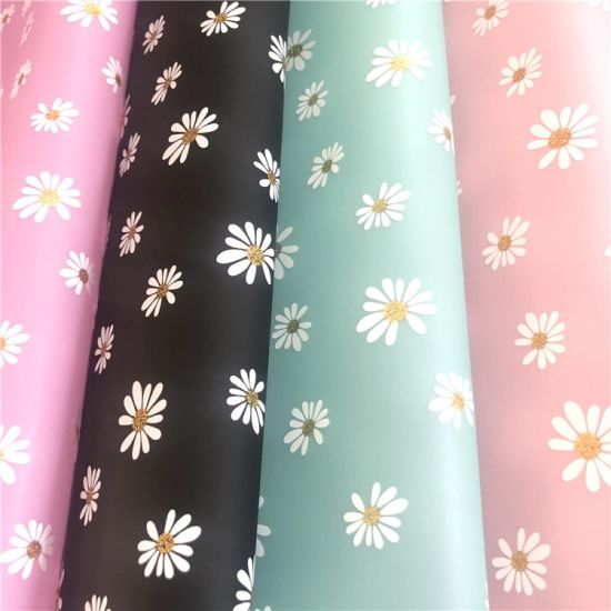 Flower Printed 300t Polyester Taffeta Fabric Bonded with TPU Film for Jacket