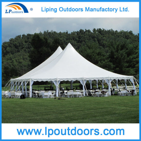 12X18m Pegs u0026 Pole Tent (180 seaters tent) with Cathedral Windows Walls Tension Marquee Tents & China 12X18m Pegs u0026 Pole Tent (180 seaters tent) with Cathedral ...