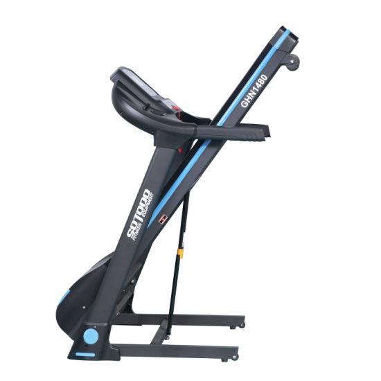 Easy Transportation Foldable Treadmill Wide Running Desk Treadmill