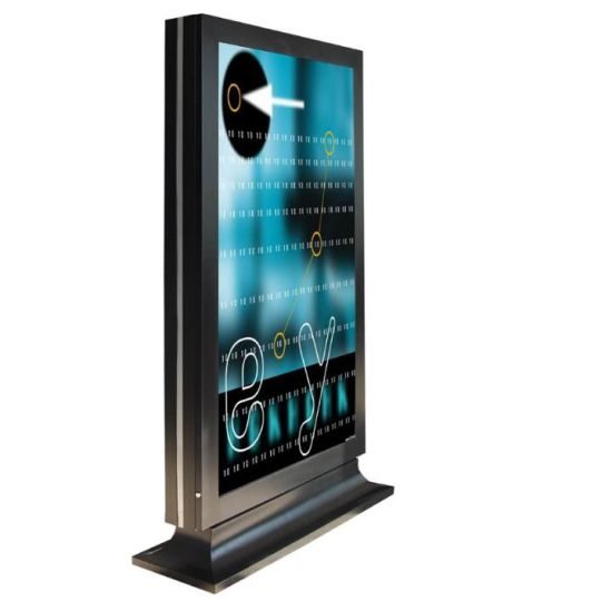 Popular Style 55 Inch Outdoor Digital Signage LCD Display with LED Screen