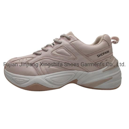 Fashion Comfortable PU Upper Phylon Outsole Women Sports Shoes