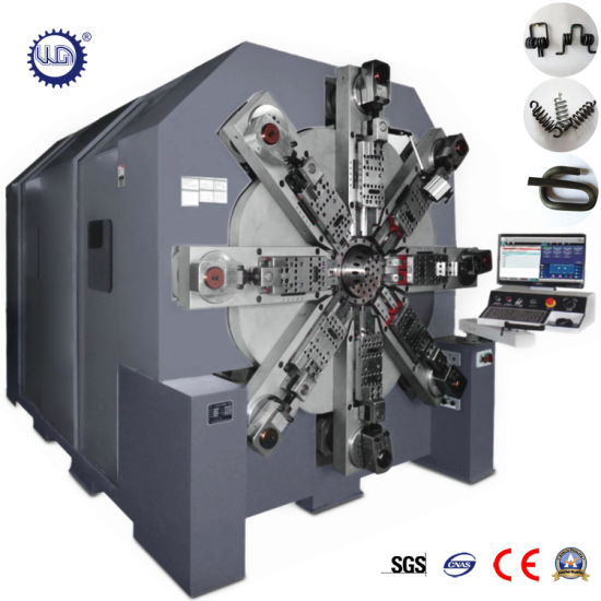 12 Axes Automatic CNC Camless Wire Parts Spring Forming Machine