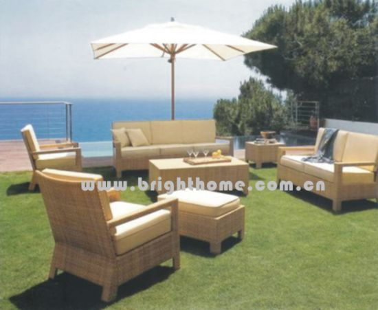 Gardenspecific Use and No Folded Rattan Furniture (BL-016)