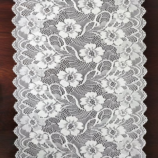 2020 New Stretch Lace Trim Grace Flower Fashion Lace Fabric for Underwear