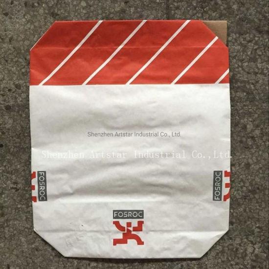 25kg, 20kg Multiwall Paper Bags Packaging Bag for Tile Adhesive