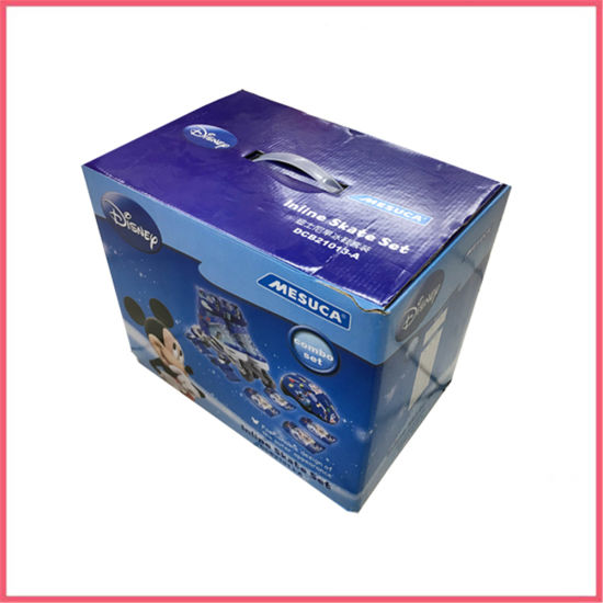 Custom Printed Corrugated Paper Toy Carry Packaging Box Manufacturer Supplier Factory