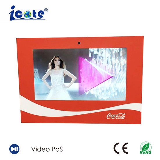China 24 101 inch hot sale brochure invitationlcd video greeting 24 101 inch hot sale brochure invitationlcd video greeting cardbusiness video card m4hsunfo