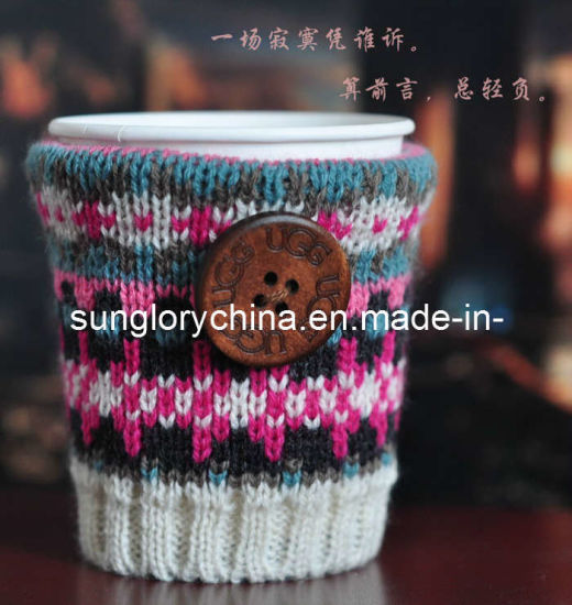 Wholesale Can Be Customized Knitted Design Coffee Mug