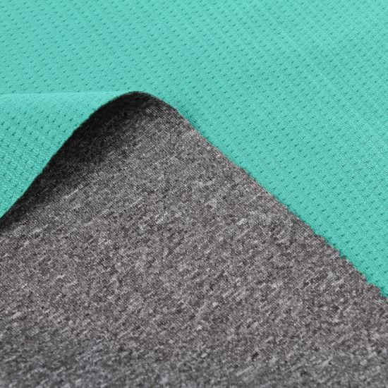 T/C Jersey Bonded with Polyester Sherpa for Garment/ Compound Fabric