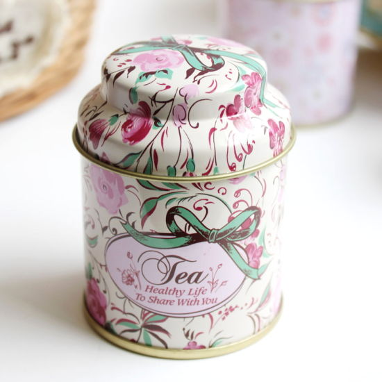 Wholesale Custom Round Tea Tin Can