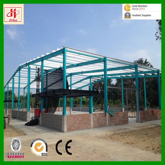 Economic Light Steel Structure Prefab Warehouse