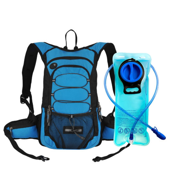 Waterproof Sport Hiking Running Hydration Backpack with 2L Bladder