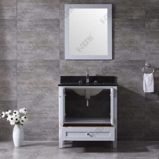 Durable Single Sink Bathroom Vanity